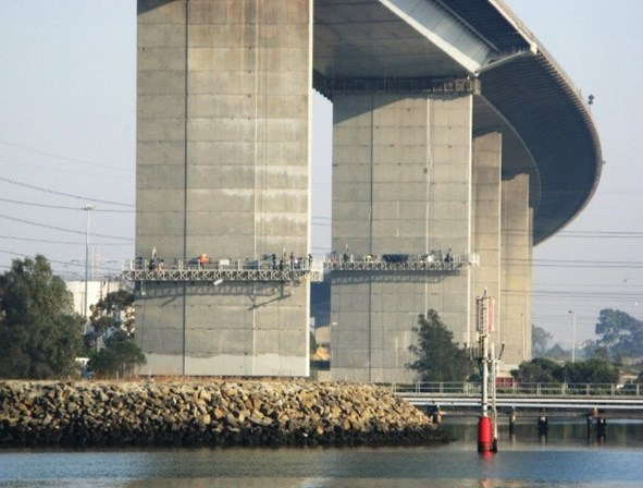 AWD West Gate Bridge Suspended Access Platforms